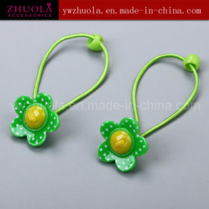 Kids Hair Ornaments with Plastic Flower pictures & photos