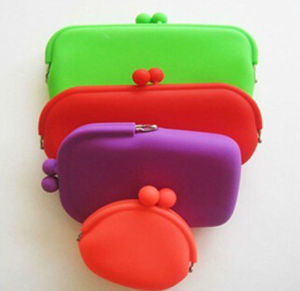 Newst Design OEM Silicone Smart Wallet Coin Purse pictures & photos
