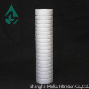 10 Inch Grooved PP Sediment Filter for Water Filter Cartridge pictures & photos