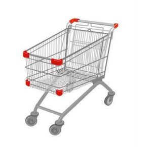 Wholesale American Style Supermarket Shopping Trolley Shopping Cart pictures & photos