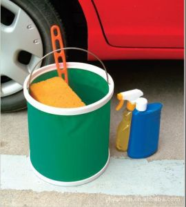 Collapsible Water Bucket with Pouch pictures & photos
