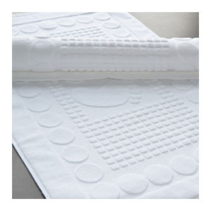 100% Cotton Jacquard Floor Hotel Bathroom Bath Mat pictures & photos