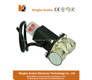 12V Gas Valve Locking G1/2 G3/4 Dn20 Brass Material Safety Solenoid Electromagnetic Valve pictures & photos