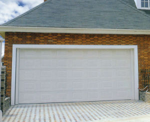 Fashionable Design and Security Sectional Garage Door with Remote Control pictures & photos