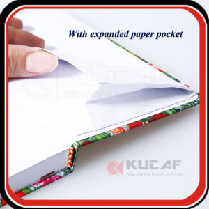 Custom UV Printing Metallic Paper A5 Size Note Book pictures & photos