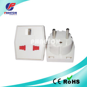 Power AC Adapter Travel Plug UK to Europe Type (pH7521) pictures & photos