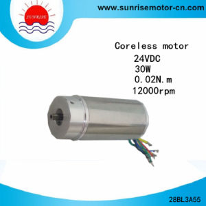 28bl3a55 28mm 12000rpm 30W High Speed Coreless Motor pictures & photos