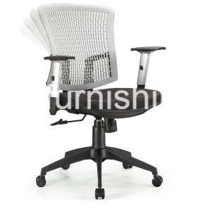 Plastic Leg Fabric Seat Staff Office Chair