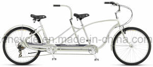 26 Inch Tandem Mountain Bikes/ 2 Seat Tandem Bikes /Tandem Beach Cruiser Bike pictures & photos