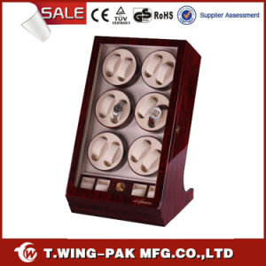 Six Rotors Japanese Motor Watch Winder for 12+4 Watches