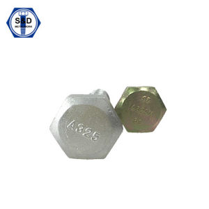 ASTM A325 8s Heavy Hex Structural Bolt Zinc Plated pictures & photos