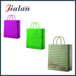 Cheap Speical Film Suface Finishing Professional Factory Holographic Paper Bag pictures & photos