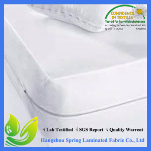 100% Waterproof and Hypoallergenic Breathable TPU Mattress Cover pictures & photos