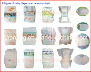 All Types Baby Diaper Exporter, Free Sample OEM Available Baby Nappy, Water -Proof Disposable Baby Diaper pictures & photos