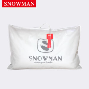 2-4 Cm White Goose Feather Pillow pictures & photos