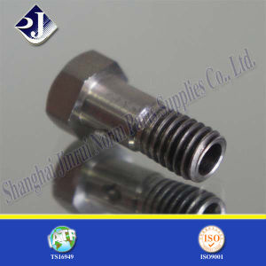 304 Stainless Steel with Hole Hexagonal Bolt pictures & photos