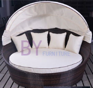 4 Pillows Outdoor Lounge Daybed pictures & photos