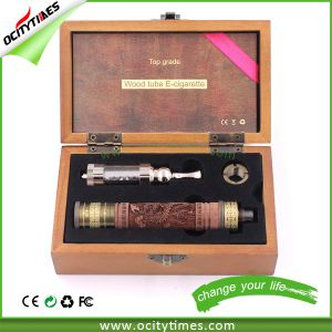 OEM Service Wooden E Cig Starter Kit Airflow Control Wooden Vaporizer Pen Wholesale pictures & photos