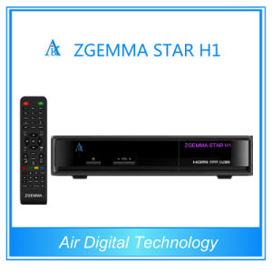 Original Satellite Receiver Software Download Zgemma-Star H1 Twin Tuner Set Top Box pictures & photos