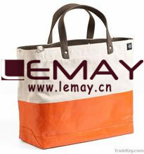 2016 Heavy Duty Cotton Shopping Jute Grocery Beach Waxed Canvas Tote Bag pictures & photos