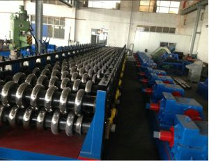Thickness 1.5-2mm Steel Silo Corrugated Sheet Roll Forming Machine pictures & photos
