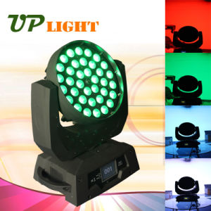 RGBWA 4in1 360W Zoom LED Moving Head Wash Light pictures & photos