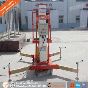 Single Mast Aluminum Alloy Construction Platform Lift pictures & photos