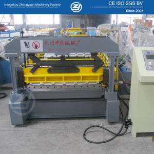 Hydraulic Cutting Roof Roll Forming Machine pictures & photos