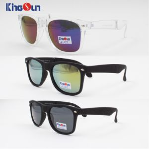 Folding Acetate Sunglasses with Case (KS1159) pictures & photos
