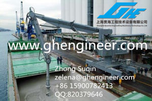 Continuous Mobile Vertical Screw Type Ship Unloader 800tph for Coal and Cement pictures & photos