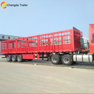 3 Axles Fence Warehouse Semi Trailer pictures & photos