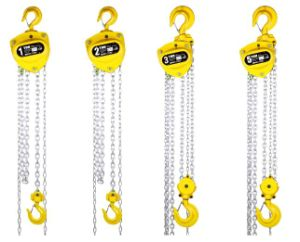 Lightweight 2t Manual Chain Hoist with Yellow Colour pictures & photos