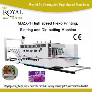 High Speed Flexo Printing and Slotting and Die-Cutting Machine (MJZX-1) pictures & photos