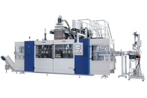 Fully Automatic Blow Molding Machine B20d-750 (2 Stations 4 Cavities)