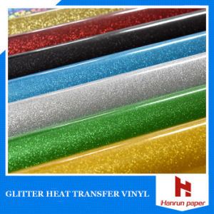 Self-Adhesive Reflex Glitter Heat Transfer Vinyl for Printing