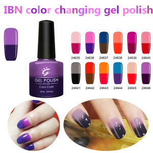 Own Brand Thermal Color Changing Private Label UV Gel Nail Polish Soak off pictures & photos
