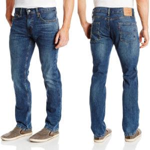 New Classic Men Stylish Pants Straight Slim Fit Denim Jeans pictures & photos