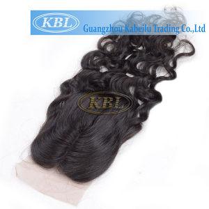 Charming Unprocessed Brazilian Virgin Hair Bundles with Women Closure pictures & photos