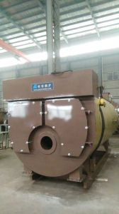 Horizontal Oil (Gas) Condensing Steam Boiler Wns0.75 pictures & photos
