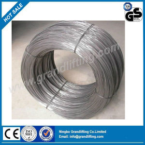 High Tension Hot Dipped Galvanized Steel Wire Binding Wire in China pictures & photos