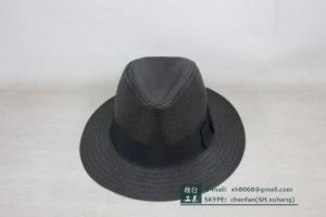 Fedora Straw Hat (OT-XH8018) pictures & photos