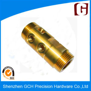 (GCH15011) Precision CNC Machined Copper Part Lathing pictures & photos