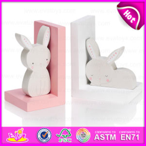 2015 New Wooden Rabbit Bookend, Hot Sale Wood Rabbit Bookend, Lovely Bookend Rabbit Wooden, Fancy Wooden Rabbit Bookend W08d050 pictures & photos