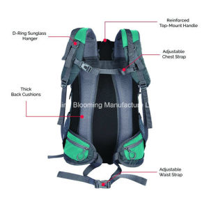 Waterproof Outdoor Sports Climbing Trekking Travelling Pack Hiking Backpack pictures & photos