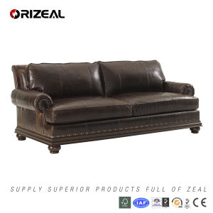 Living Room Chambers Leather Sofa (OZ-SF-032) pictures & photos