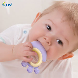 Funny Animal Shape Silicome Baby Teether