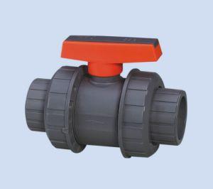 Stable Quality Plastic PVC True Double Union Ball Valve pictures & photos