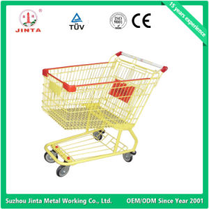 Top Quality Supermarket Use Hand Shopping Cart (JT-E12) pictures & photos