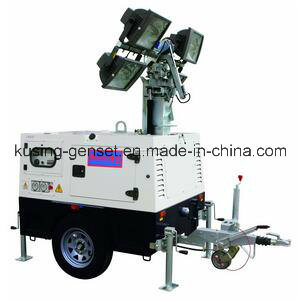 T1000 Series with 10kVA 403D-15g Mobile Light Tower Generator Set/Diesel Generator