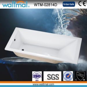 Cheap Quality Bathroom Simple Drop-in Bathtub (WTM-02814D) pictures & photos